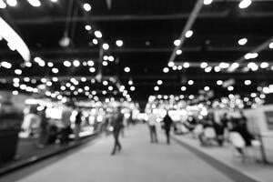 Trade Show Blurred