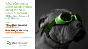 eCommerce webinar title page image